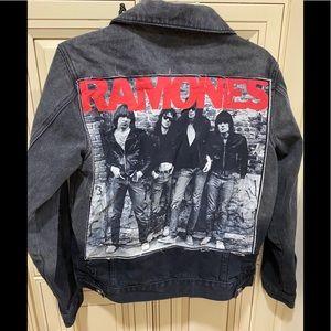 Ramones Vintage distressed jean jacket